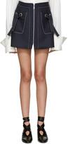 Kenzo Navy Twill Miniskirt