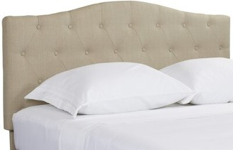 Three Posts Lainey Upholstered Panel Headboard Size: Full / Queen, Upholstery: Ivory
