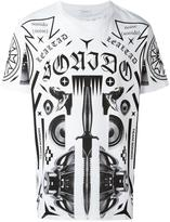 Marcelo Burlon County of Milan allover print T-shirt - men - Cotton - XXS