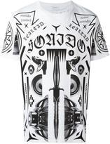 Marcelo Burlon County of Milan allover print T-shirt