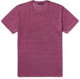 Etro - Mélange Linen T-shirt