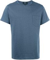 A.P.C. chest pocket T-shirt - men - Cotton - L