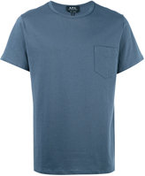 A.P.C. chest pocket T-shirt - men - Cotton - S