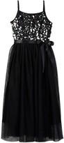 Zunie Sequin Top & Mesh Skirted Dress (Big Girls)