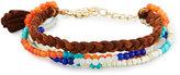 Panacea Multi-Row Stone Beaded Bracelet, Multi