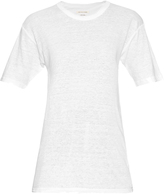 Etoile Isabel Marant Keiran round-neck linen T-shirt