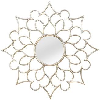 Stratton Home Silver Francesca Wall Mirror