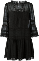 RED Valentino lace insert dress - women - Silk/Cotton/Polyester - 40