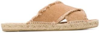 Castaner Palmera frayed sandals