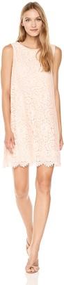 Max Studio Women's Blocked Multi Lace Sleeveless Dress