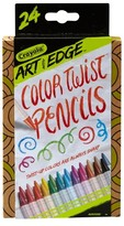 Crayola Art with Edge Twistable Colored Pencils 24ct