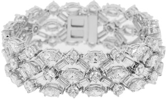 FANTASIA Round Marquise and Baguette Bracelet