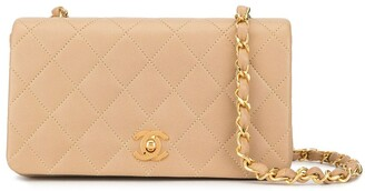 Chanel Pre Owned 1990s Diamond Quilted Shoulder Bag