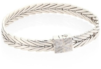 John Hardy Modern Chain Diamond & Sterling Silver Extra-Small Bracelet
