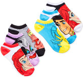 Disney Women's Assorted Little Mermaid No Show 6- Pk. Socks