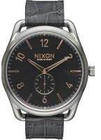 Mens Nixon The C45 Leather Watch A465-2145