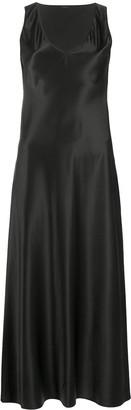 Joseph Sleeveless Silk Midi Dress