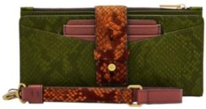 Fossil Women's Willa Slim Tab Leather Wallet