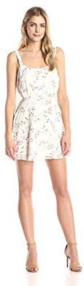 Lucca Couture Women's Printed Sleeveless Easy Dress