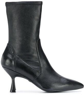 Stuart Weitzman Nappa point-toe ankle boots