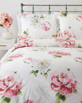 Mirabello White Sweet Rose King Duvet Cover Set