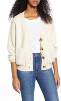 Moon River V-Neck Button Up Cardigan