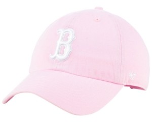 '47 Boston Red Sox Pink Clean Up Cap