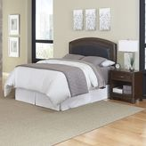 Home Styles Crescent Hill 2-piece Leather Headboard and Night Stand Set