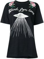 Gucci Blind For Love embroidered T-shirt