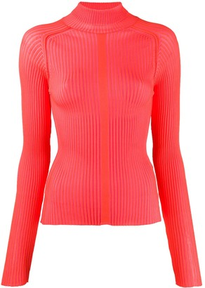 Acne Studios Ribbed Polo Neck Sweater