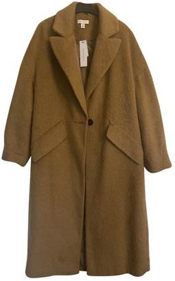 Topshop Tophop Camel Coat for Women