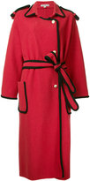 Edeline Lee - belted midi coat - women - Wool - 6