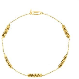 Aurélie Bidermann Five Wheat Cobs necklace