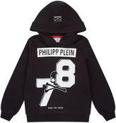 Philipp Plein Skull Logo Hoodie