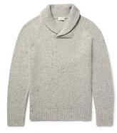 Club Monaco Shawl-Collar Wool-Blend Sweater