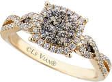 LeVian Le Vian Chocolatier 14K 0.76 Ct. Tw. White & Brown Diamond Ring