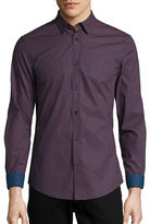 Ben Sherman Slim Fit Patterned Sportshirt