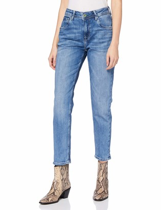 Pepe Jeans Women's Violet Straight Jeans