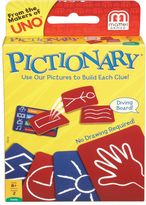 Mattel Pictionary® Card Game
