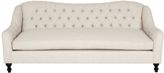 Kim Salmela Waverly Tufted Sofa - Ivory Crypton