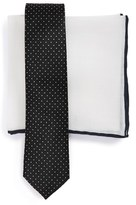 The Tie Bar Men's Tie & Pocket Square Set