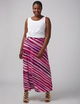 Lane Bryant Printed Maxi Skirt