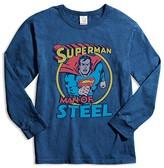 Junk Food Clothing Boys' Superman Man of Steel Tee - Little Kid, Big Kid