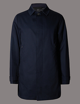 Autograph Pure Cotton Bonded Mac Coat With Stormweartm