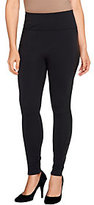 Spanx As Is Assets Red Hot Label by Faux Leather Side Shaping Legging