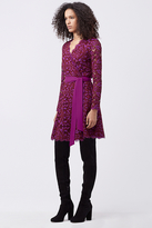 Diane von Furstenberg Shaelyn Lace Wrap Dress