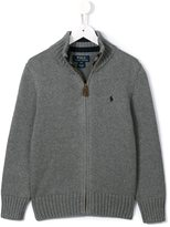 Ralph Lauren zipped knit jacket