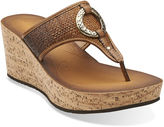 Clarks Avaleen Lake Wedge Shoes