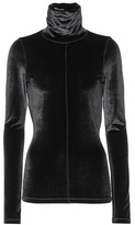 Tom Ford Velvet turtleneck top
