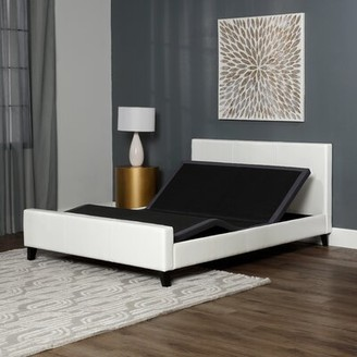 Zero Gravity 16.5 Adjustable Bed with Wireless Remote Leggett & Platt Size: Queen